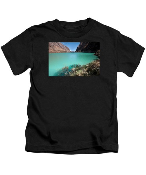 Llanganuco Lakes Kids T-Shirt
