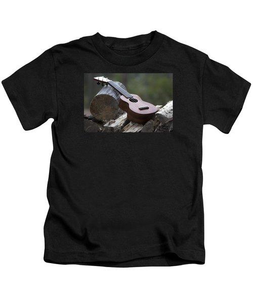 Logpile Ukulele Kids T-Shirt