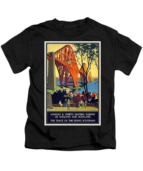 London And North Eastern Railway - Retro Travel Poster - Vintage Poster Kids T-Shirt