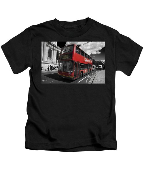 London Bus Kids T-Shirt