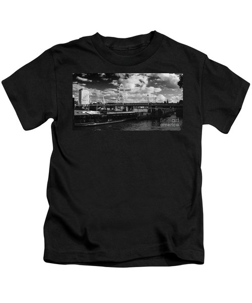 London S Skyline Kids T-Shirt