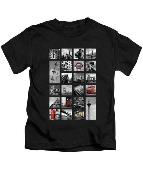 London Squares Kids T-Shirt