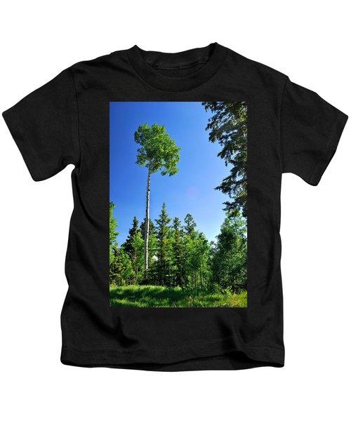 Lone Aspen Kids T-Shirt