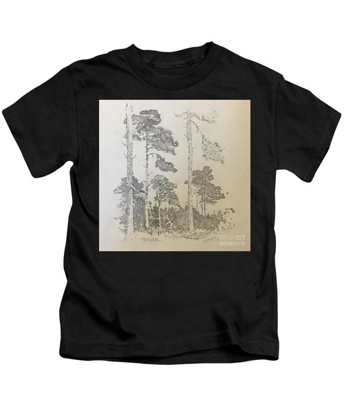 Lonely Pines Kids T-Shirt