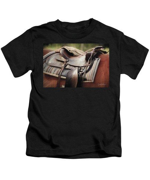 Lonely Saddle  Kids T-Shirt