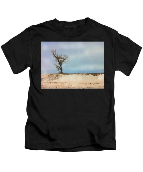 Lonely Sentinel  Kids T-Shirt