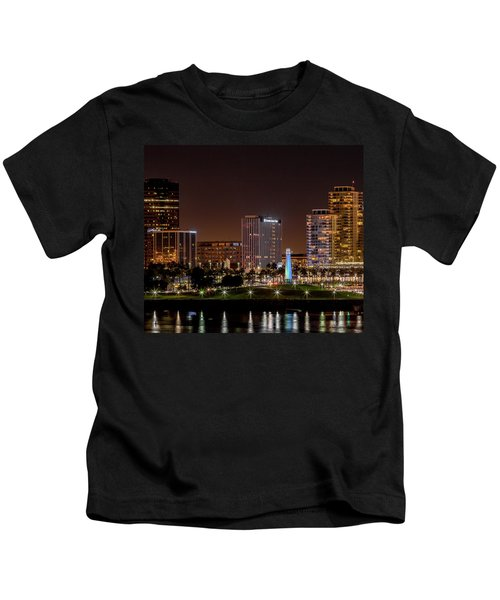 Long Beach A Chip In Time Color Kids T-Shirt