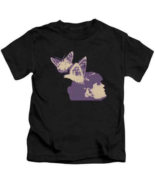 Long Gone Whisper - Amaranth Kids T-Shirt
