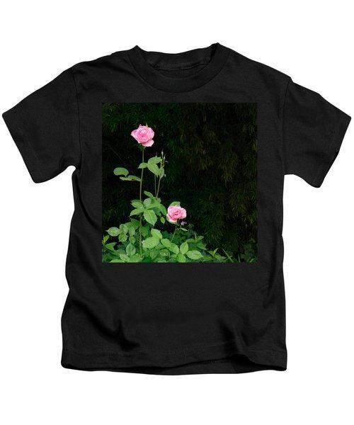 Long Stemmed Rose Kids T-Shirt