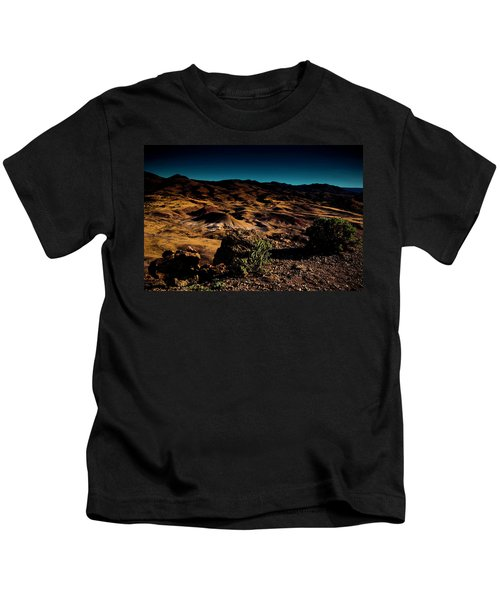 Looking Across The Hills Kids T-Shirt