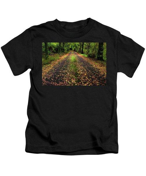 Looking Down The Lane Kids T-Shirt