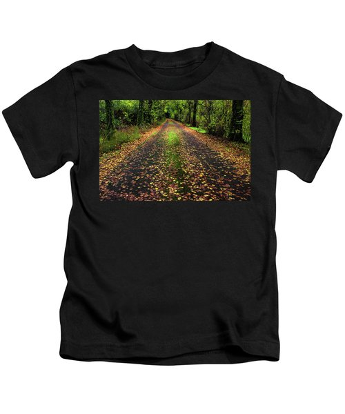 Looking Down The Lane Kids T-Shirt