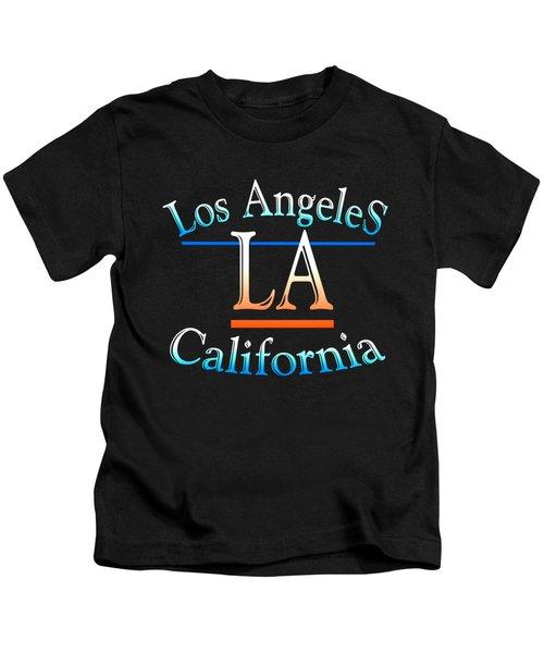 Los Angeles California Design Kids T-Shirt
