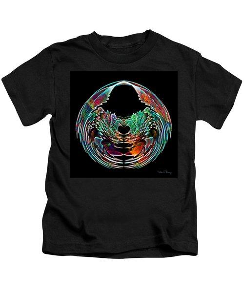 Lotus In A Bowl Kids T-Shirt