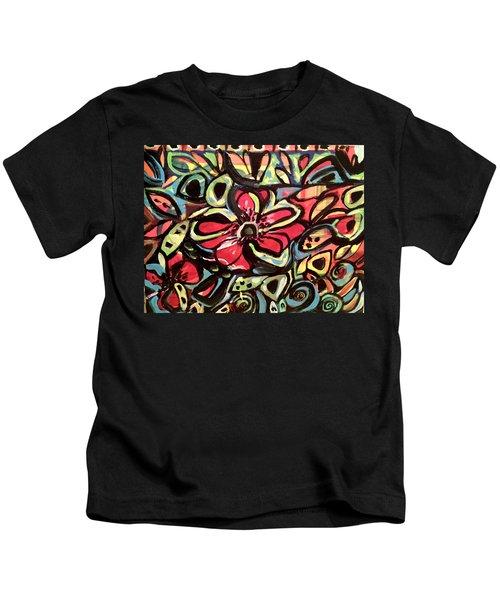 Lotus Petals Kids T-Shirt