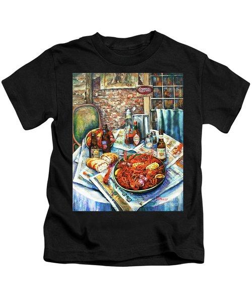 Louisiana Saturday Night Kids T-Shirt