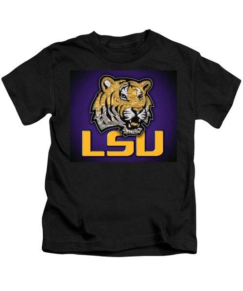 Louisiana State University Tigers Football Kids T-Shirt