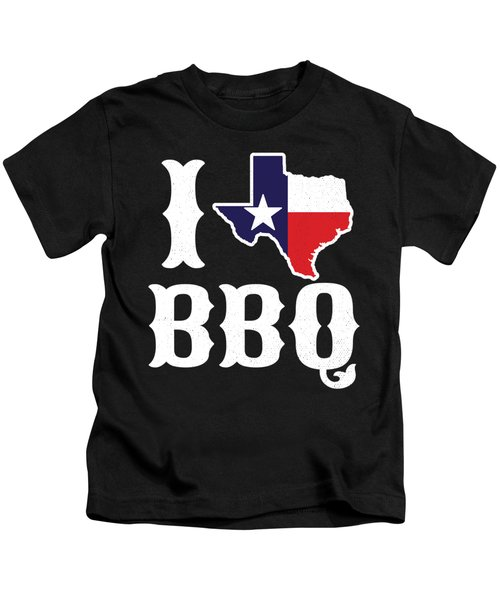 Love Bbq Texas Barbecue Gift Kids T-Shirt