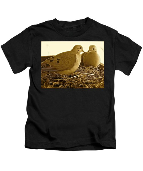 Love Birds Kids T-Shirt