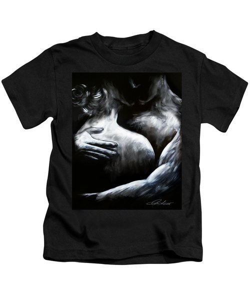 Lover's Embrace Kids T-Shirt