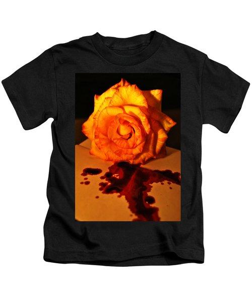 Loves Last Letter Kids T-Shirt