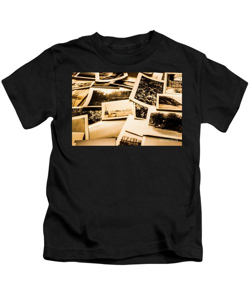 Lowdown On A Vintage Photo Collections Kids T-Shirt