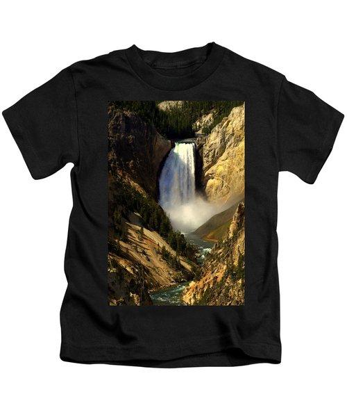 Lower Falls 2 Kids T-Shirt