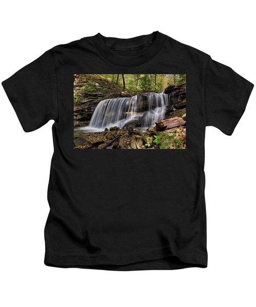 Lower Tews Falls Kids T-Shirt