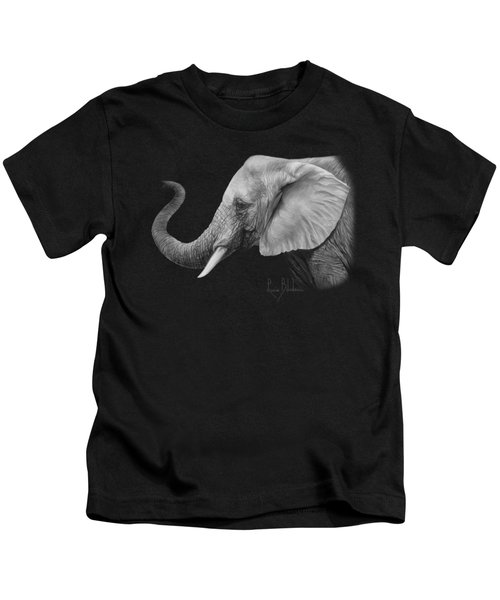 Lucky - Black And White Kids T-Shirt
