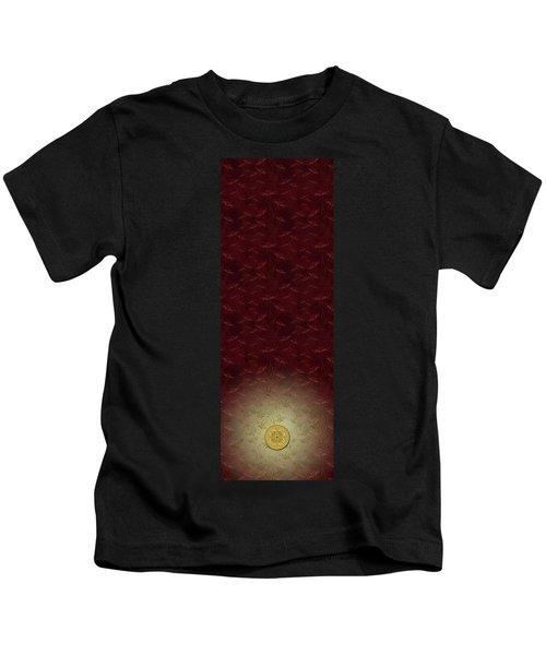 Lucky Zenfly Bi Coin Kids T-Shirt