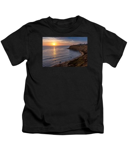 Lunada Bay Sunset Kids T-Shirt