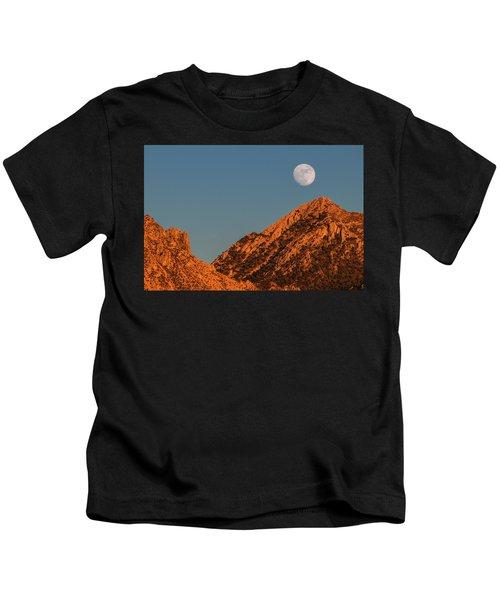 Lunar Sunset Kids T-Shirt