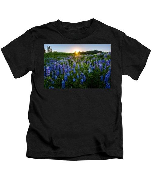 Lupine Meadow Kids T-Shirt