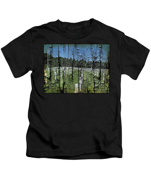 Luxembourg Wwii Memorial Cemetery Kids T-Shirt