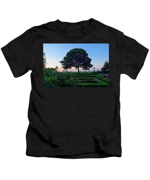 Lynch Park At Dawn Beverly Ma Kids T-Shirt