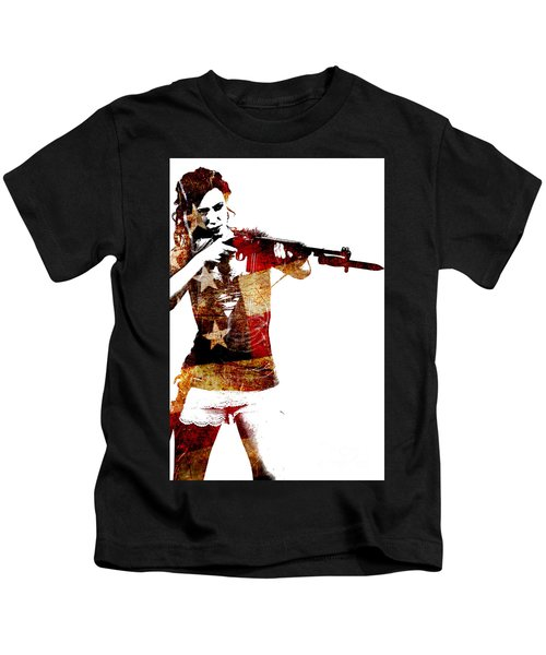 M1 Carbine And Bayonet Kids T-Shirt