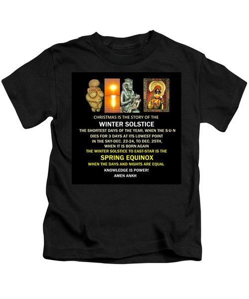 Ma Ra Solstice Kids T-Shirt