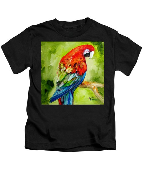 Macaw Tropical Kids T-Shirt
