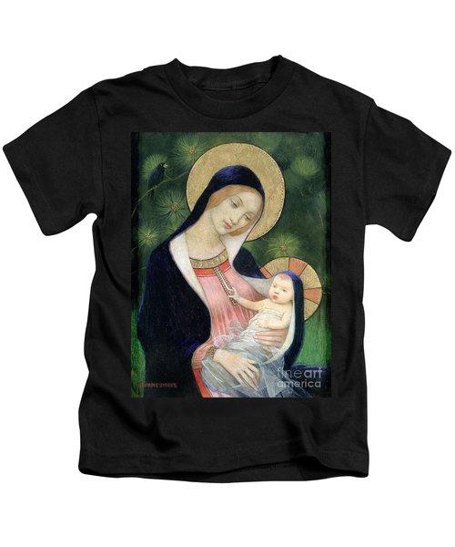 Madonna Of The Fir Tree Kids T-Shirt