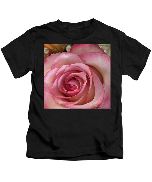 Kids T-Shirt featuring the photograph Magnificent Rose by Marian Palucci-Lonzetta