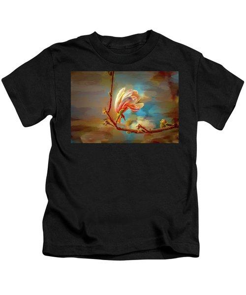 Magnolia Abs #h4 Kids T-Shirt