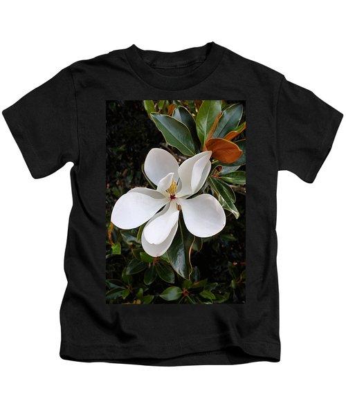 Magnolia Blossom Kids T-Shirt