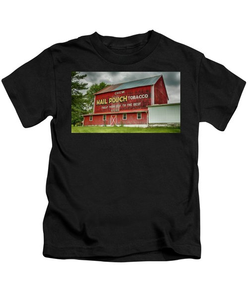Mail Pouch Red Barn - Oh 93 Kids T-Shirt