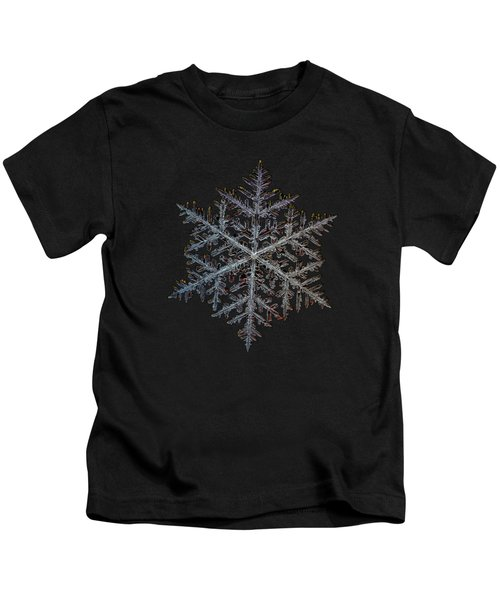 Majestic Crystal, Black Version Kids T-Shirt
