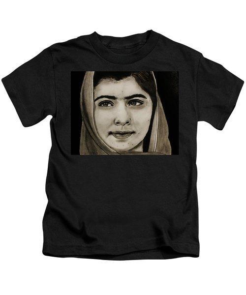Malala Yousafzai- Teen Hero Kids T-Shirt