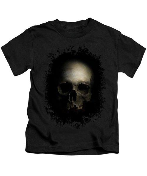 Male Skull Kids T-Shirt