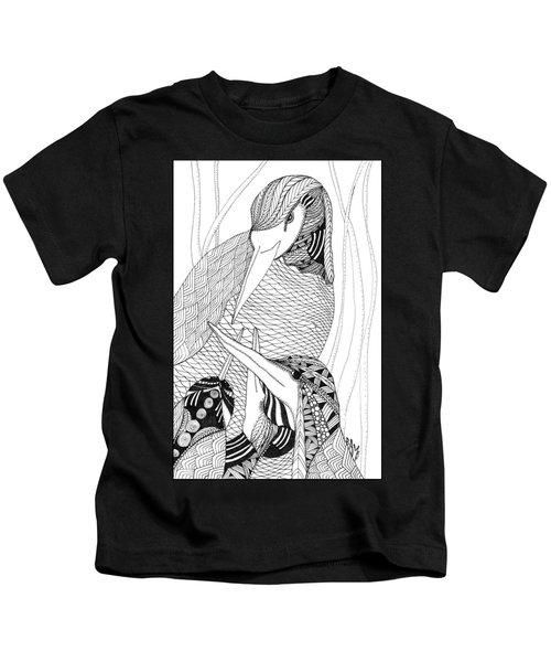 Mama Heron Kids T-Shirt
