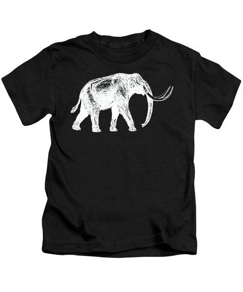 Mammoth White Ink Tee Kids T-Shirt