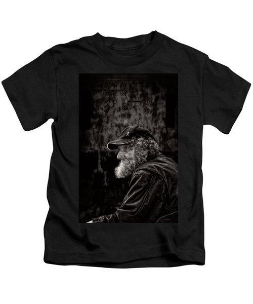 Man With A Beard Kids T-Shirt