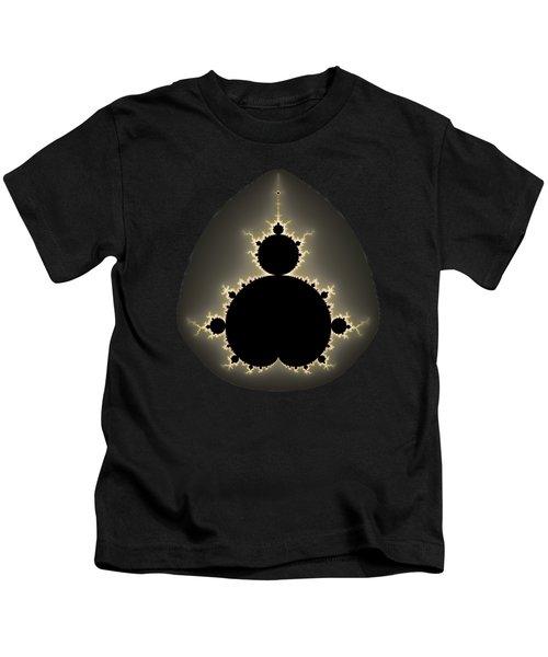 Mandelbrot Set Square Format Art Kids T-Shirt